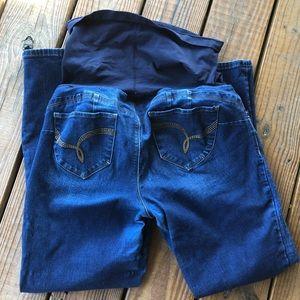 Want a Better Butt? Maternity Jeans-XL